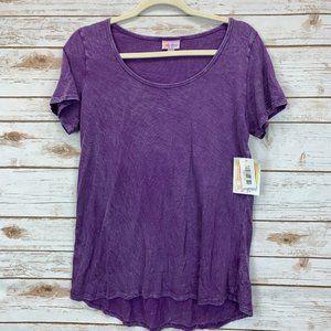LuLaRoe Classic T XS Purple Brushed Cotton NWT